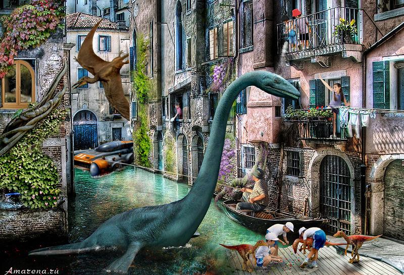 Коллаж Венеция